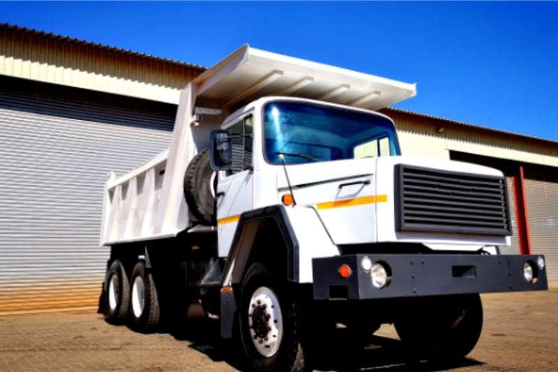 Iveco Iveco MagirusWhite Tipper 6x6 left hand drive Tipper trucks