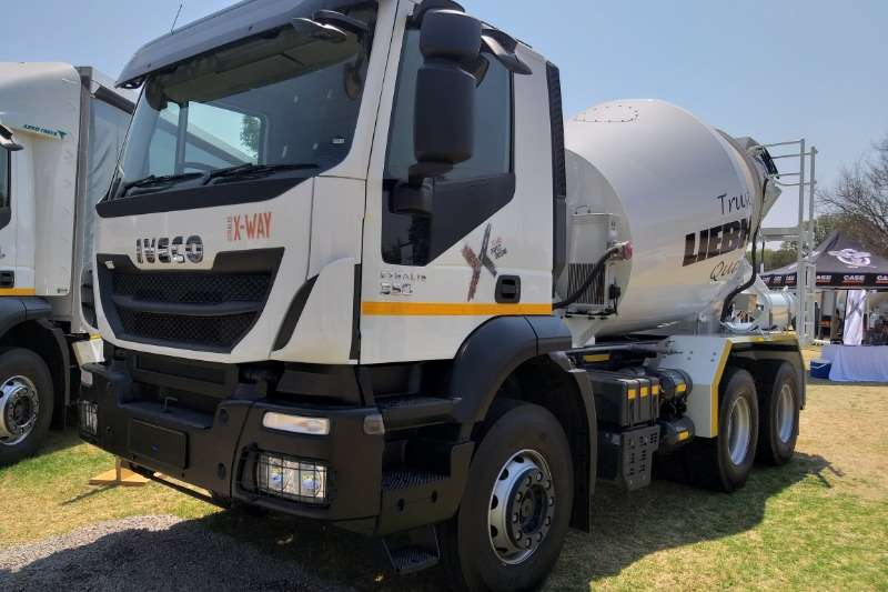 Iveco Truck Concrete mixer ALL NEW Iveco Stralis X Way Mixer 2020