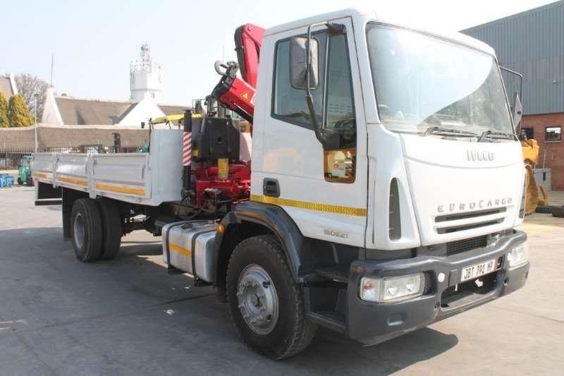 Iveco Truck Crane truck 150E21 Crane Truck 2008