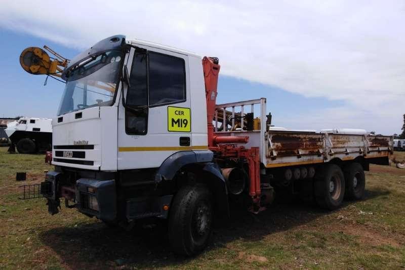 Iveco Truck Crane truck Iveco dubble dif crane truck.