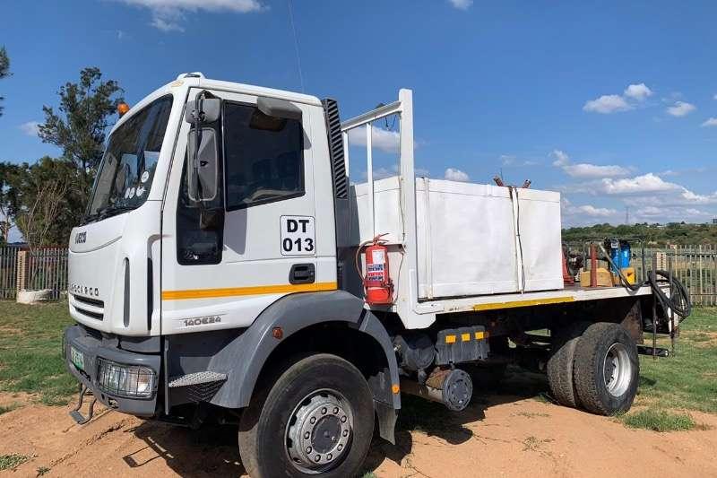 Iveco Truck Diesel tanker 4X4 EUROCARGO 140 E24 2018