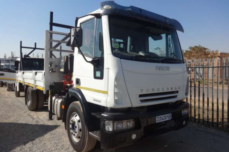 Iveco Truck Dropside With Hydraulic Crane