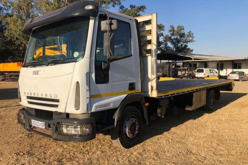 Iveco Truck Flat deck Eurocargo 100E17 with 6m Flatdeck Body