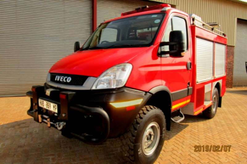 Iveco Truck Iveco Fire Fighter Truck 2015