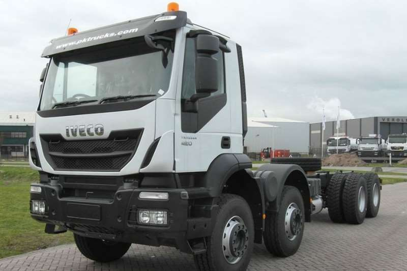 Iveco Truck Other Iveco Trakker 410 8x4 2019