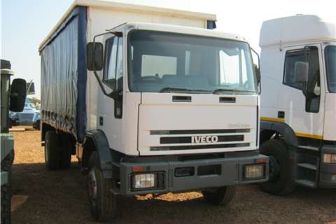 Iveco Truck Other Iveco White Taut Liner 2002