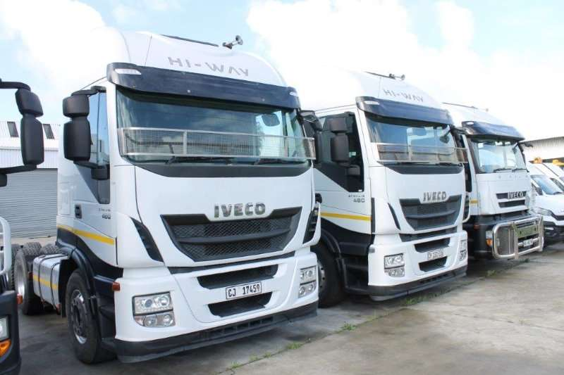 Iveco Truck-Tractor Double axle 480 2014