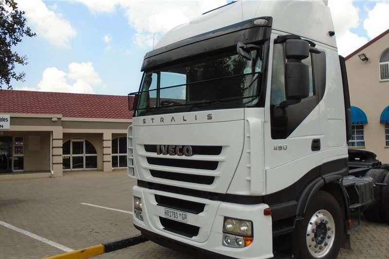 Iveco Double axle Stralis 480 Truck-Tractor