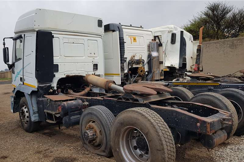 Iveco Double axle EuroTrakker 440 Complete or Strip for Parts Truck tractors
