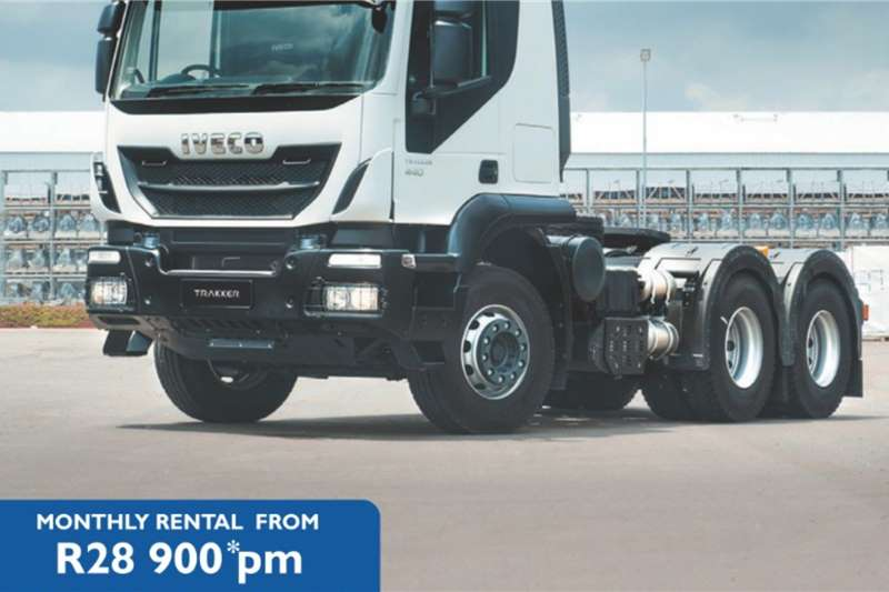 Iveco Truck tractors Double axle New Iveco Trakker 440 SR for R28 900 pm 2020