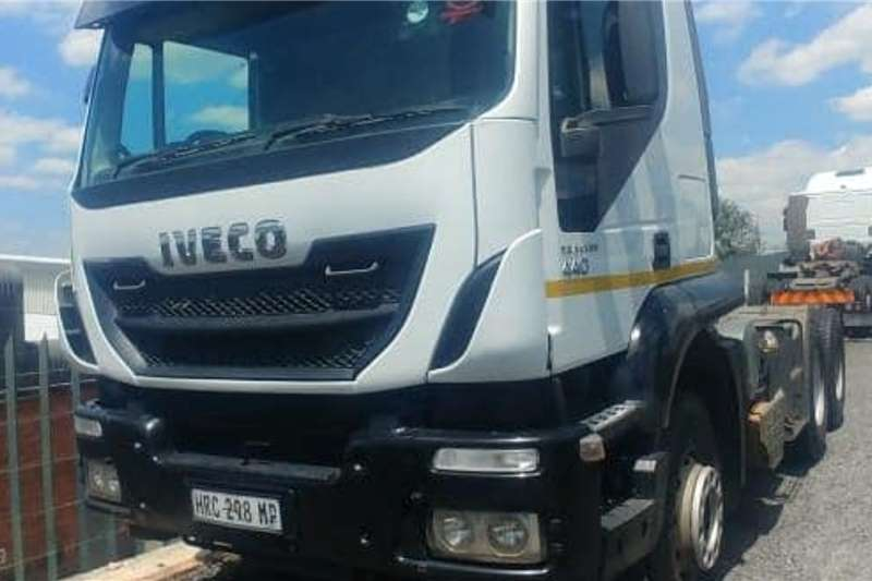 Iveco Truck tractors Iveco Tracker 440 6x4 2016