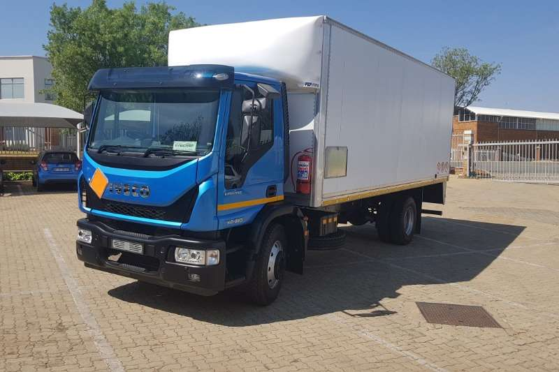 Iveco Truck Van body New Iveco Eurocargo Van Body 2020