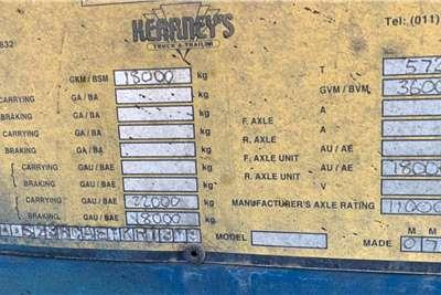 Kearneys 2014 Kearneys 45m3 Side Tipper Trailers