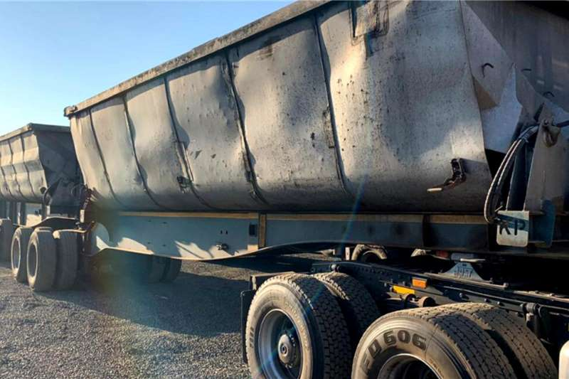 Kearneys 2014 Kearneys 45m3 Side Tipper Trailers