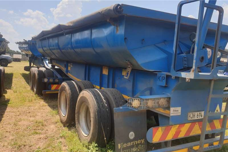 Kearneys Trailers Side tipper 2014 KEARNEYS 30M3 LINK SIDE TIPPER 2014
