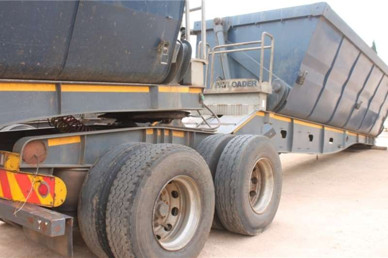 Kearneys Trailers Side Tipper Interlink Front & Rear 2013