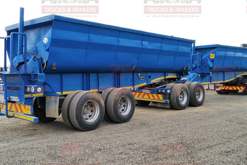Kearneys Trailers Side tipper KEARNEY 40CUBE SIDE TIPPER *PAYLOADER* 2014