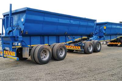 Kearneys Side tipper VARIOUS KEARNEY 40m3 SIDE TIPPER LINKS Trailers