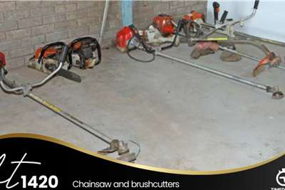 Chainsaw and Brushcutters Lawn equipment