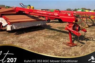 Kuhn FC 353 Mower Conditioner Lawn Equipment