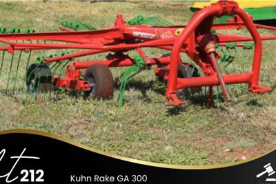 Kuhn Rake GA 200 Lawn equipment