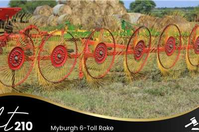 Myburgh 6 Toll Rake Lawn equipment