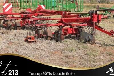Taarup 9071s Double Rake Lawn equipment