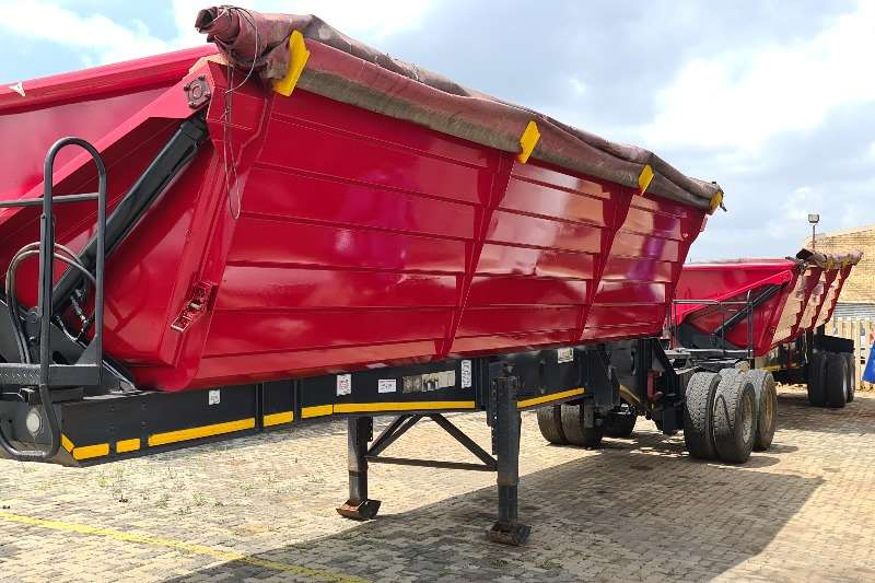 Leader Trailer Bodies Side tipper 40 CUBE Trailers