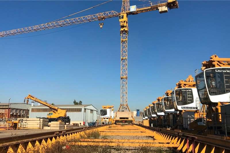 Liebherr 154EC H6 TOWER CRANE ON RAIL BOGIE Cranes