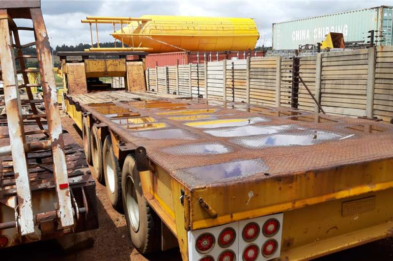 4 Axle Lowbed Abnormally Wide Lowbeds