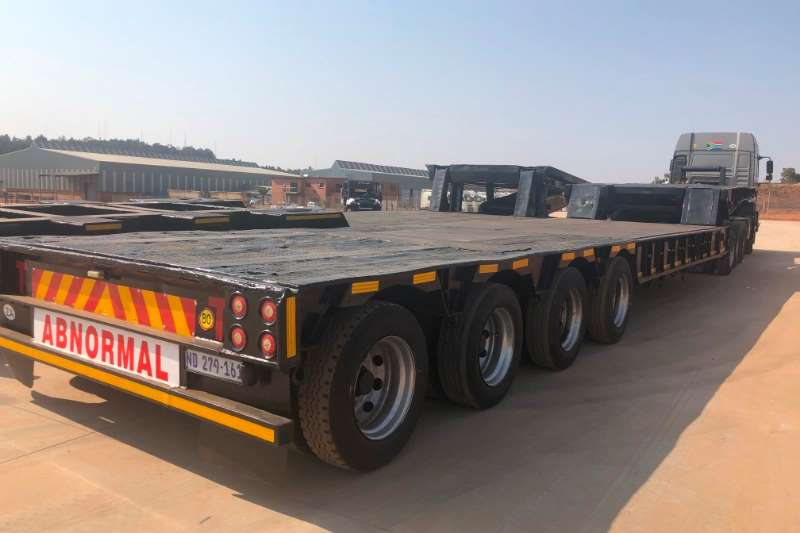Lowbeds HENRED / 4 AXLE / 60 TON / LOWBED / DOLLY