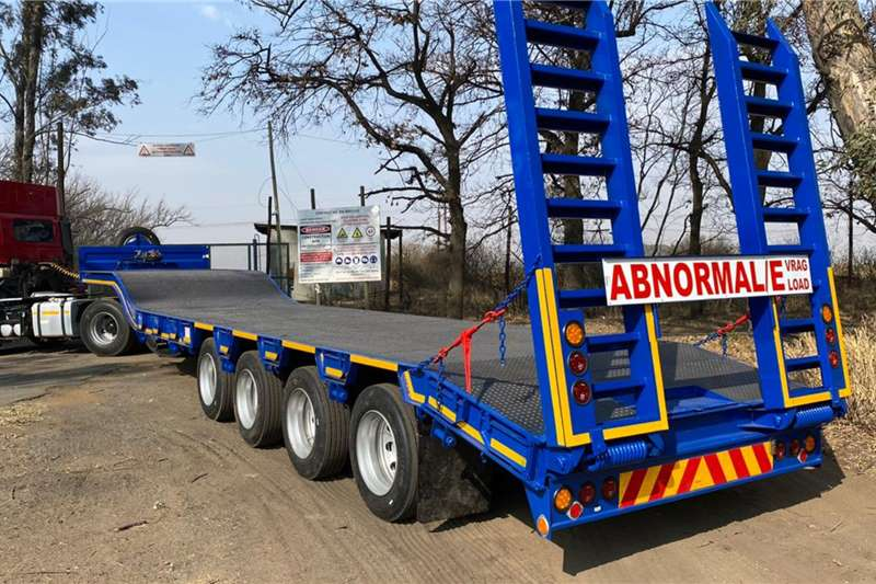 New 42 Ton 4 axle lowbed Lowbeds