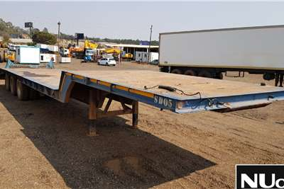 SUPERIOR TRI AXLE STEPDECK LOWBED TRAILER FWX858MP Lowbeds