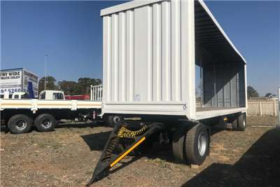M And P Drawbar Curtain Side Draw Bar Trailer Trailers