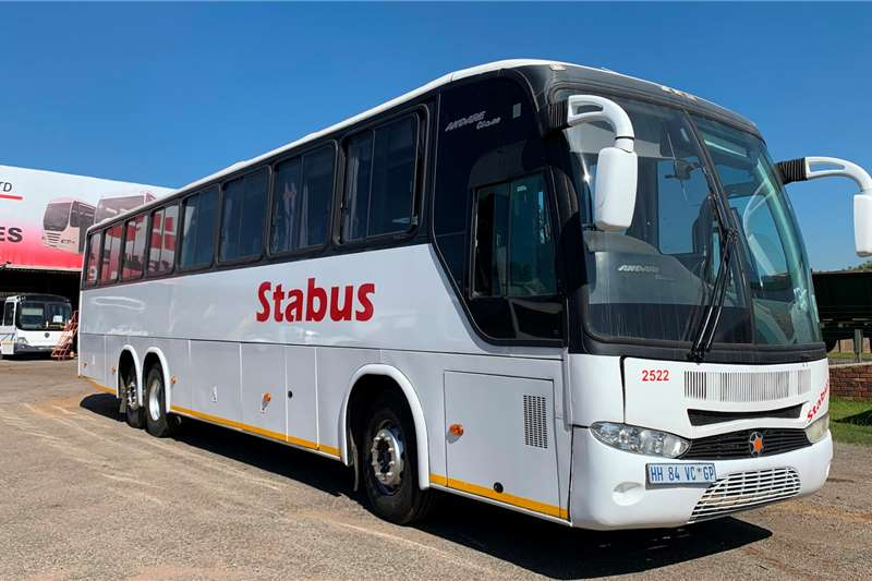 MAN Buses 65 seater MAN 26 350 MARCOPOLO G6 ANDARE CLASS HB4 2008