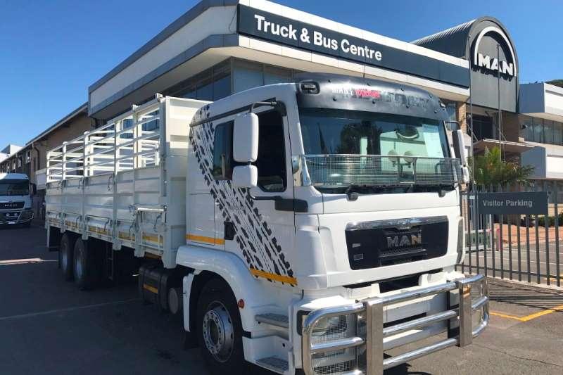 MAN Cattle body trucks TGM 25.280 BL L 6x2 2014