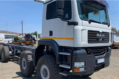 MAN 41 480 8x8 LWB Freight Carrier Chassis cab trucks