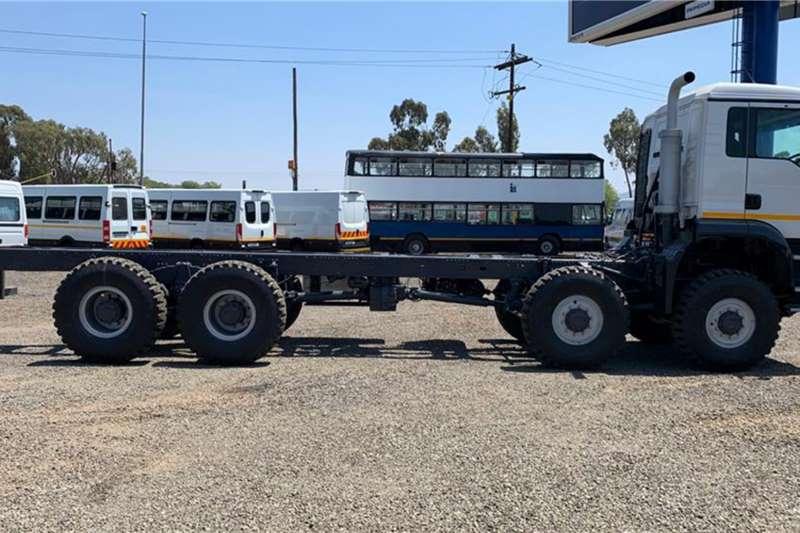 MAN 8x8 Long Wheel Base Chassis cab trucks