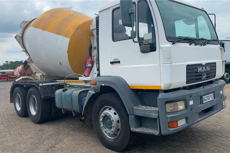 MAN Concrete mixer trucks MAN CONCRETE MIXER