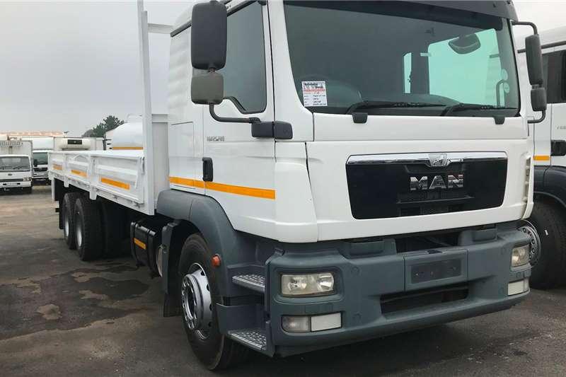 MAN Dropside trucks 2014 MAN TGM25 280 6X2 dropside 2014
