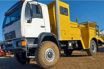 MAN 2003 MAN 4x4 Forestry Fire Truck Fire trucks