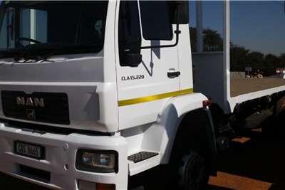 MAN CLA15.220 Flat Deck Flatbed trucks