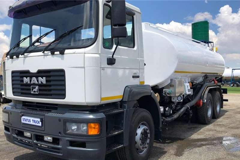 MAN Tanker trucks F2000 30 414 2004