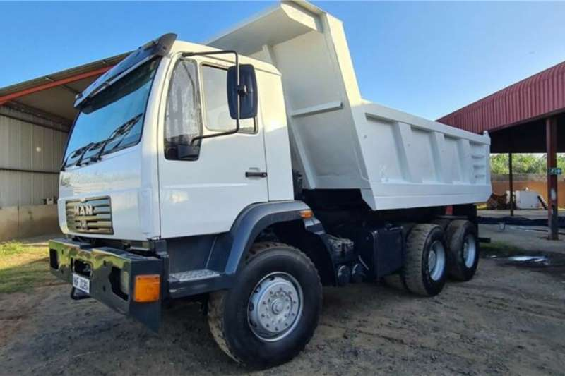 MAN 2000 Man M2000 10cum3 Tipper Tipper trucks