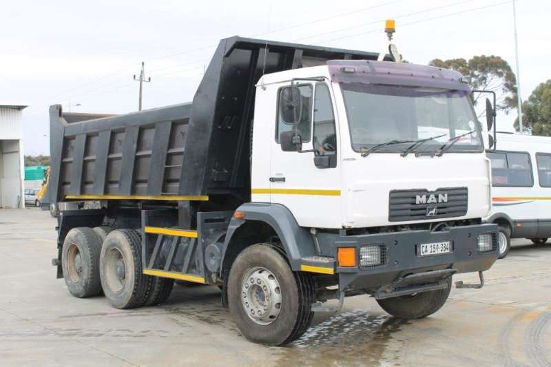 MAN Tipper trucks 26 280 2011