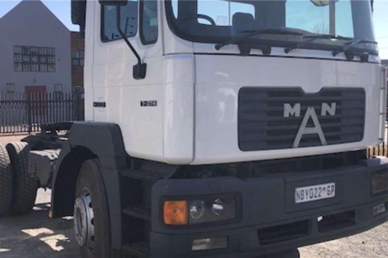 MAN 17 374 S/ Diff Horse Truck