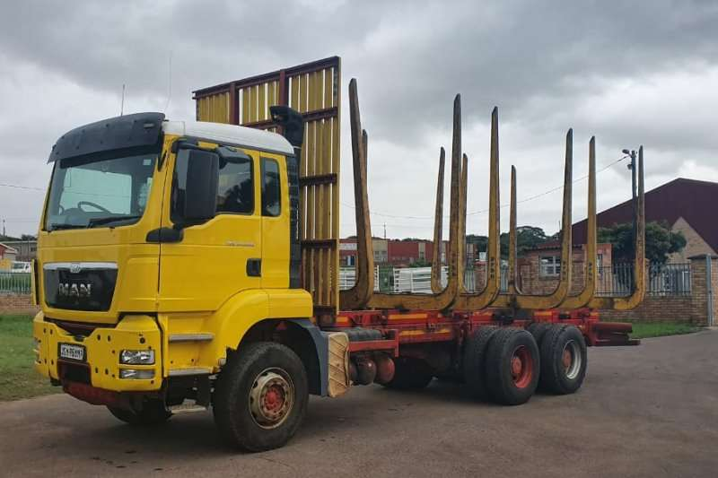 MAN Truck 2017 MAN 33.480 TGS 6x4 RIGID TIMBER TRUCK 2017