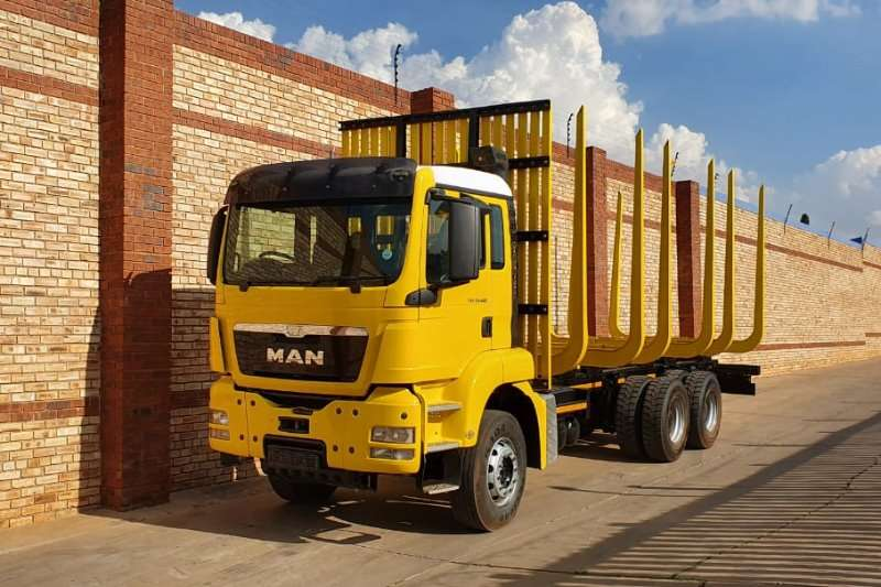 MAN 2017 MAN TGS 33.480 TIMBER TRUCK Truck