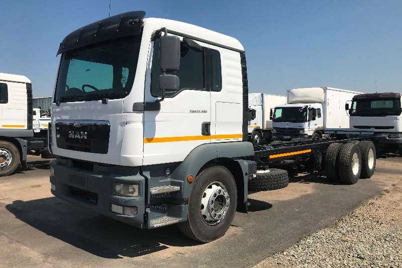MAN Truck Chassis cab 2014 MAN TGM25 280 chassis cab 2014