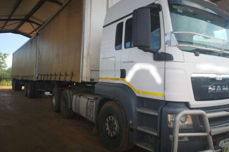 MAN Truck Chassis cab 2014 Man TGS 27.480 6×4 TT FSH 2014 Afrit Taut lin 2014